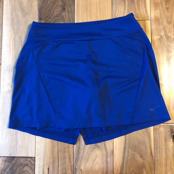 Nike navy tennis/golf skirt with shorts